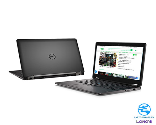 DELL LATITUDE E7470 CORE I7-6600U RAM 8G SSD 256GB 14 INCHES longs