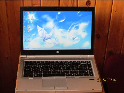 HP Elitebook 8460P Core i5 2520M Ram 4GB HDD 250GB